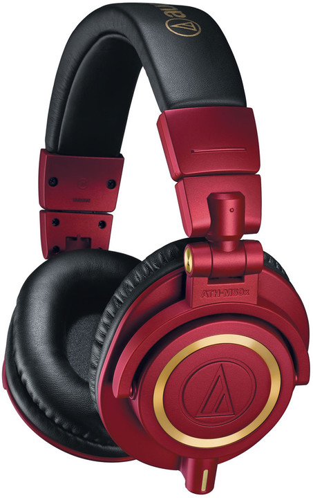 Audio-Technica ATH-M50xRD, červená