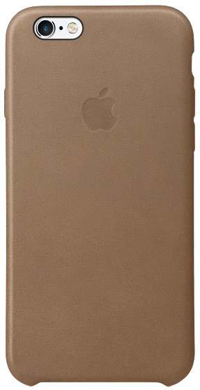 Apple iPhone 6s Leather Case, hnědá