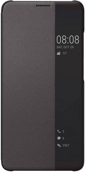 Huawei Original S-View pouzdro Mate 10 Pro, hnědá