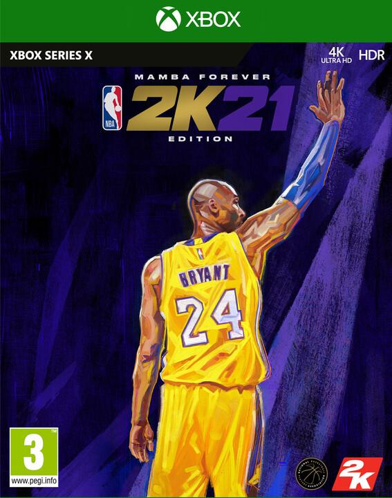 NBA 2K21 - Mamba Forever Edition (XBS)