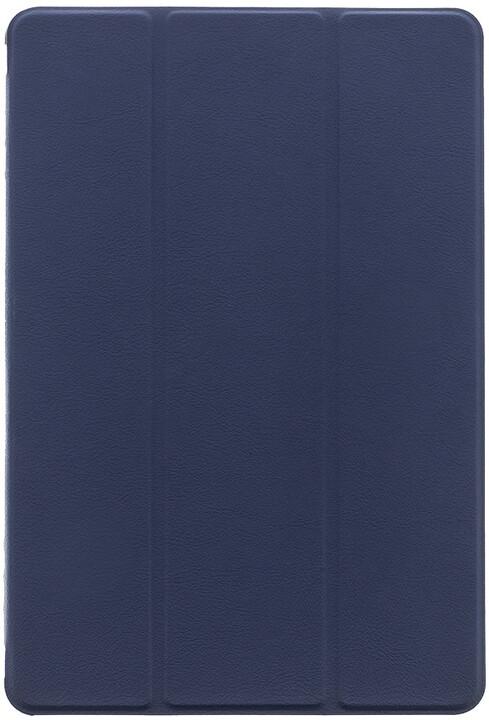 Tactical Book pouzdro Tri Fold pro Huawei MediaPad M5 Lite 10, modrá