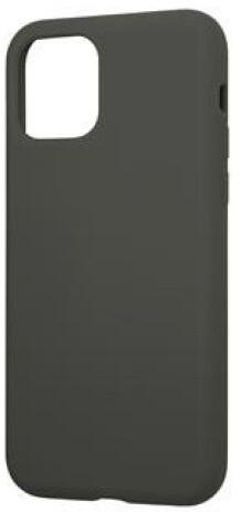 Tactical silikonový kryt Velvet Smoothie pro Apple iPhone 11, šedo-zelená