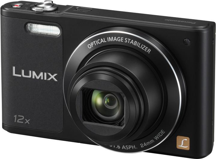 Panasonic Lumix DMC-SZ10, černá