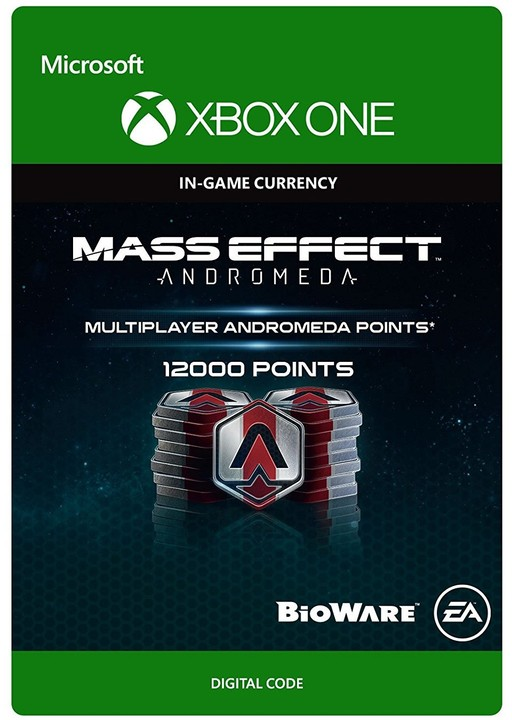Mass Effect: Andromeda - 12000 Points (Xbox ONE) - elektronicky