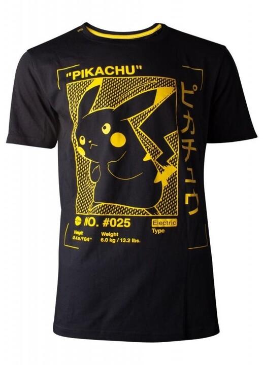 Tričko Pokémon: Pikachu Profile (XXL)