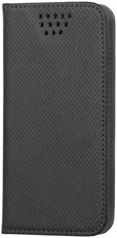 """Forever knížkové pouzdro (smartcase) typ b magnet univerzální 4,7-5,3"""" - černé"""