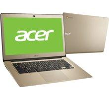 Acer Chromebook 14 celokovový (CB3-431-C3LS), zlatá