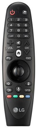 LG AN-MR600 Magic Motion - dálkový ovladač