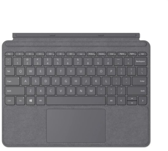 Microsoft Type Cover pro Surface Go, ENG, šedá