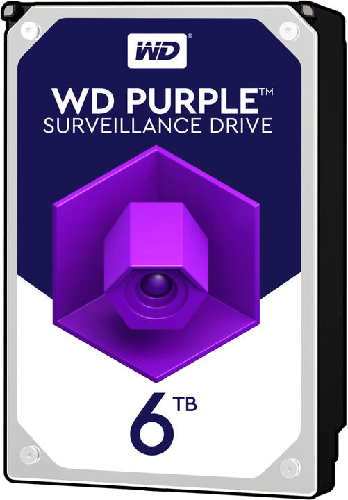 """WD Purple (PURZ), 3,5"""" - 6TB"""