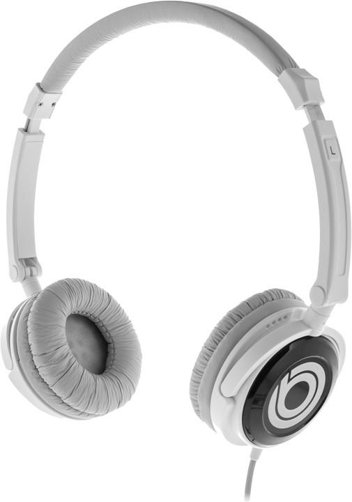 BUXTON BHP 8010 sluchátka, bílá