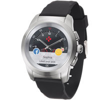 MYKRONOZ ZeTime Original Silver/Black - 39 mm - MYKRONOZ-OR-S/B