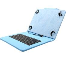 """C-TECH PROTECT pouzdro s klávesnicí pro 10,1"""" , NUTKC-04, modrá - NUTKC-04L"""