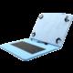 """C-TECH PROTECT pouzdro s klávesnicí pro 10,1"""" , NUTKC-04, modrá"""