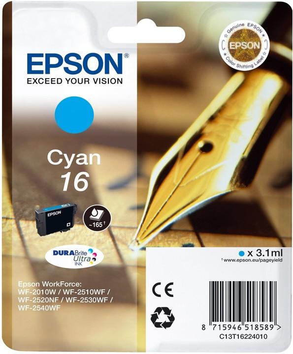 Epson C13T16224010, cyan