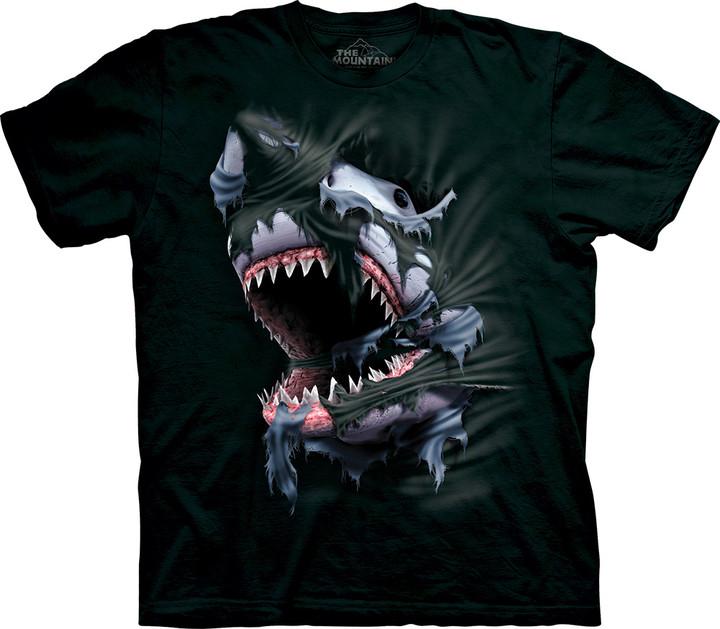 Tričko The Mountain Breakthrough Shark (US M / EU L)