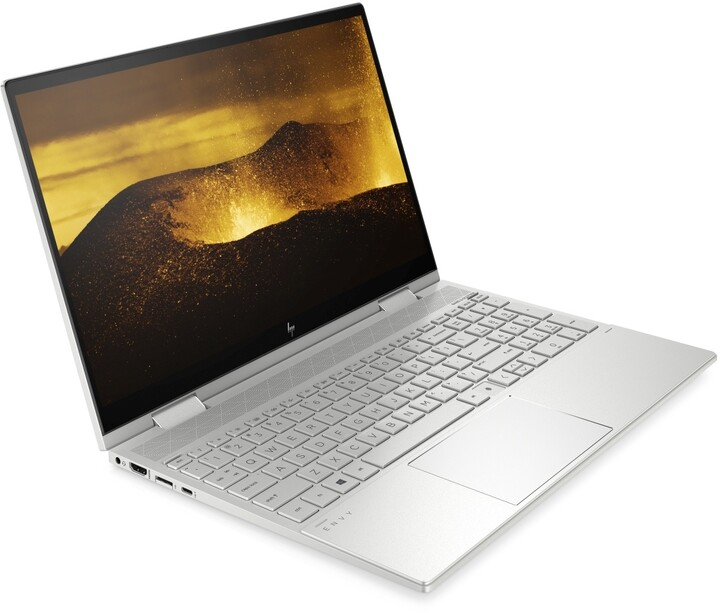 HP ENVY x360 15-ed0002nc, stříbrná + ON Site záruka