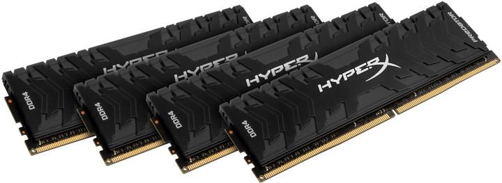 HyperX Predator 32GB (4x8GB) DDR4 2400 CL12