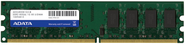 ADATA Premier Series 2GB (2x1GB) DDR2 800, retail