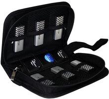 MediaRange obal na Flashdisky a SD karty, černá - BOX98