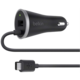 Belkin USB-C + USB-A nabíječka do auta 3A/5V, + USB-C USB-C kabel 1,2m - černá