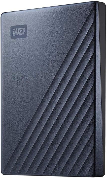 WD My Passport Ultra - 4TB, modrá