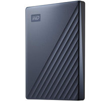 WD My Passport Ultra - 4TB, modrá - WDBFTM0040BBL-WESN