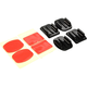 SJCAM Flat Mounts 2x & 2x Curved Mounts with adhesive pads