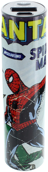 Powerbanka Marvel 2,600mAh Tube Spidey