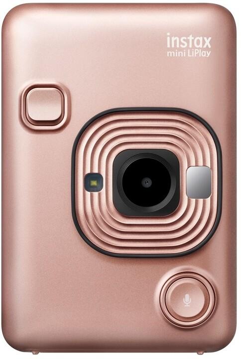 Fujifilm Instax MINI LIPLAY EX D, růžovo-zlatá
