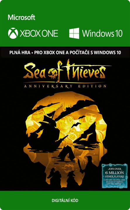 Sea of Thieves: Anniversary Edition (Xbox Play Anywhere) - elektronicky