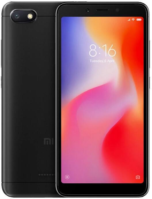 Xiaomi Redmi 6A, 2GB/16GB, černý