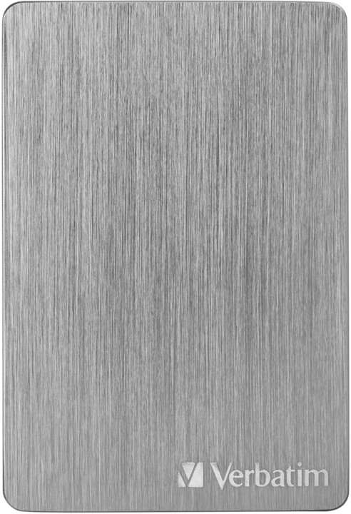 Verbatim Store´n´ Go ALU Slim - 2TB, vesmírně šedá