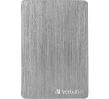 Verbatim Store´n´ Go ALU Slim - 1TB, vesmírně šedá - 53662