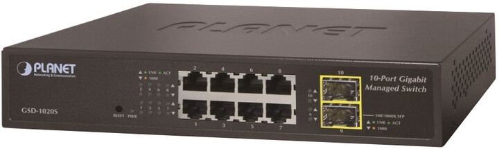 Planet IPv6 Managed 8-P 10/100/1000Mb