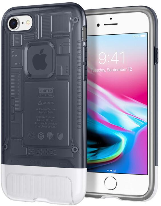 Spigen Classic C1 pro iPhone 8/7, šedá