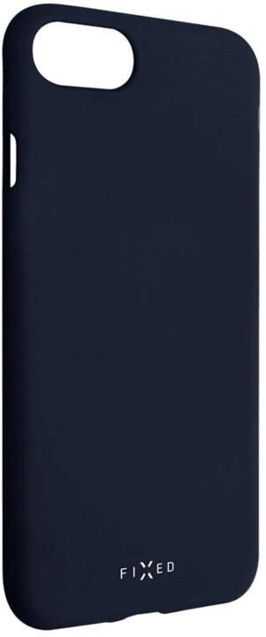 FIXED Story zadní pogumovaný kryt pro Apple iPhone 7/8/SE (2020), modrá