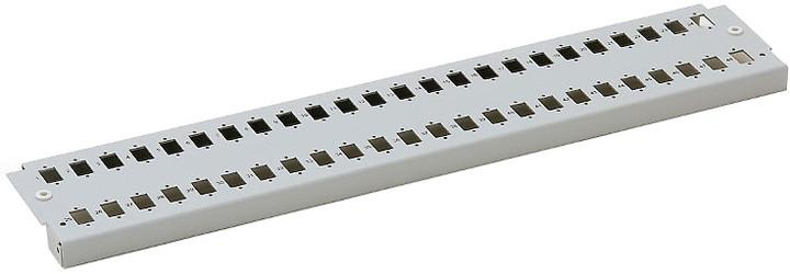 Triton čelní panel pro optickou vanu RAC-FO-X62-A1, 2U, šedá