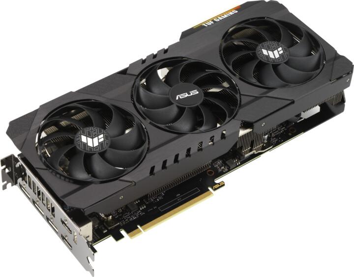 ASUS GeForce TUF-RTX3080-O10G-GAMING, LHR, 10GB GDDR6X