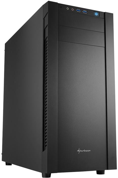 Sharkoon S25-V, černá