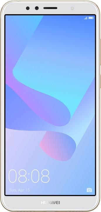 Huawei Y6 Prime 2018, zlatý