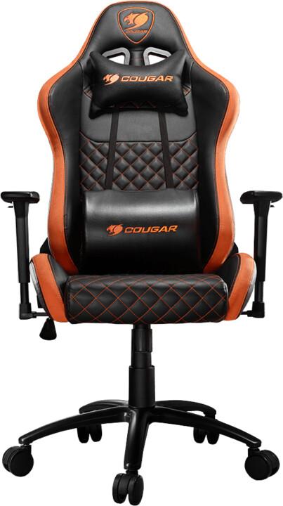 Cougar Armor Pro, černá/oranžová