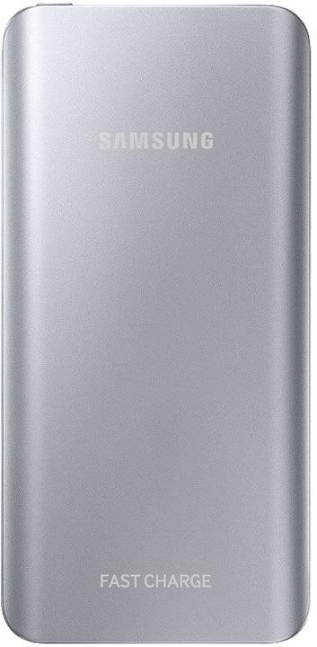Samsung powerbanka s podporou rychlonabíjení (5.2 A) EB-PN920U, stříbrná