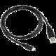 C-TECH kabel USB 2.0 AM/Micro, 0,5m, černá