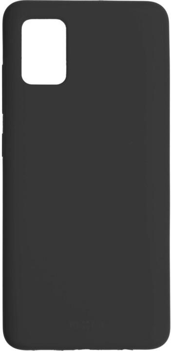 FIXED silikonový kryt Flow pro Samsung Galaxy A51, černá