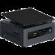 Intel NUC Kit NUC7PJYHN, černá (Mini PC)