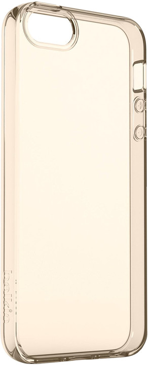 Belkin iPhone SE pouzdro Air Protect, průhledné zlaté