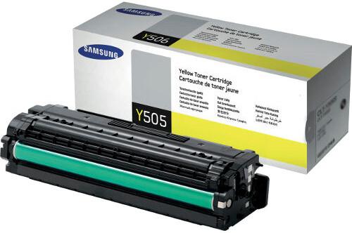 Samsung CLT-Y505L, yellow