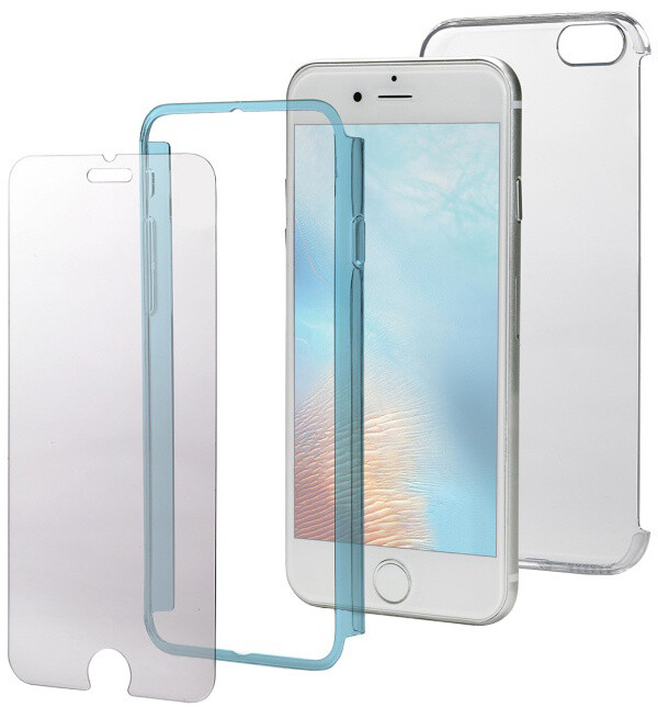 CELLY Body zadní kryt pro Apple iPhone 7, kompletní ochrana 3v1, modré