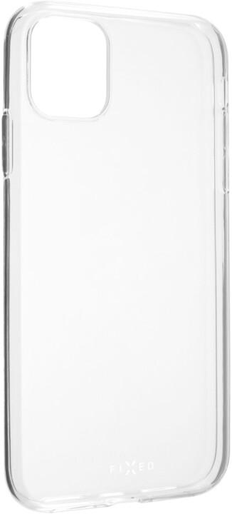 FIXED TPU gelové pouzdro pro Apple iPhone 11, čiré